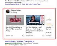 Try Googling 'Silicon Valley' for some real, fake news from the HBO show