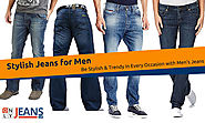 Be Stylish & Trendy in Every Occasion with Men's Jeans