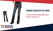 Why Women's Bootcut Fit Jeans are more popular?