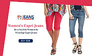 Be a Stylish Women by Wearing Women's Capri Jeans