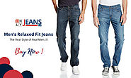 The Real Style of Real Men: Men's Relaxed Fit Jeans