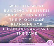How to plan for financial success | Lisa Zamparo