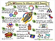 EdTechTeam: Top 10 Reasons to Attend a #GAFESUMMIT