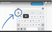 Meet Gboard: Search, GIFs, emojis & more. Right from your keyboard.