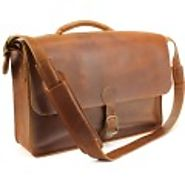 Get USA Made Leather Messenger Handbags at Best Prices