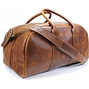 Durable Leather Duffel Bag Just for You.