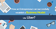 How an entrepreneur can successfully establish a business model like Uber?
