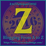 Z is for Z-A: Looking back, the A-Z Challenge in Review