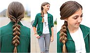 Triple-Flip Combo | Faux Braid Hairstyles