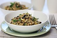 Vegetarian Ancient Grains salad