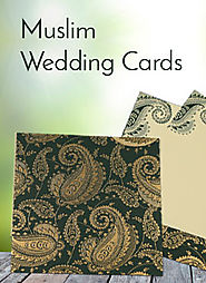 Muslim Wedding Cards | Muslim wedding invitations | Muslim Cards