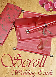Scroll Wedding Cards | Scroll Invitations | IndianWeddingCards