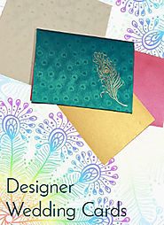 Wedding card designs | Wedding invitation designs | Designer wedding cards