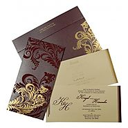 Indian Wedding Cards | CIN-8259F | IndianWeddingCards
