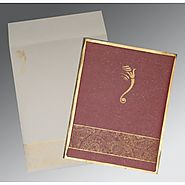 Hindu Wedding Invitation Cards | CW-2170 | IndianWeddingCards