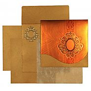 Modish Hindu Wedding Cards | CW-1549 | IndianWeddingCards