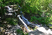 Geary Lake Falls: It's a 30 minute drive from Manhattan just off HWY 77 near Junction City.