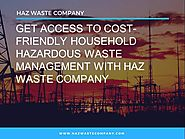 Cost-Friendly Household Hazardous Waste Management |authorSTREAM
