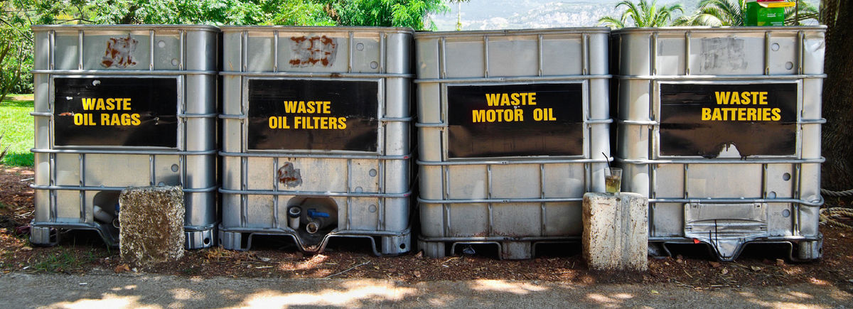 Headline for HazWaste Company as your perfect partner in waste and oil disposal services