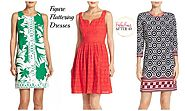 Figure Flattering Spring Dresses For Women Over 40