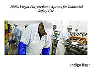 100% Virgin Polyurethane Aprons for Industrial Safety Use