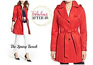 Relaxed Trench Coats Look Fabulous After 40