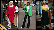 NO FEAR OF FASHION - CLASSIC DRESSING WITH A COLORFUL