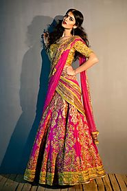 Indian Bridal Wedding Sarees Collection | Satya Paul