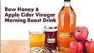 Raw Honey & Apple Cider Vinegar Morning Boost Drink