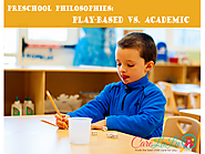 Preschool Philosophies: Play-Based vs. Academic