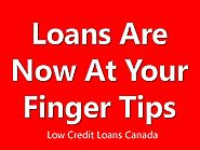 Low Credit Loans Canada with Same Day Application Approval Online
