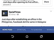 Facebook Testing New Version of Secondary Categories in News Feed?
