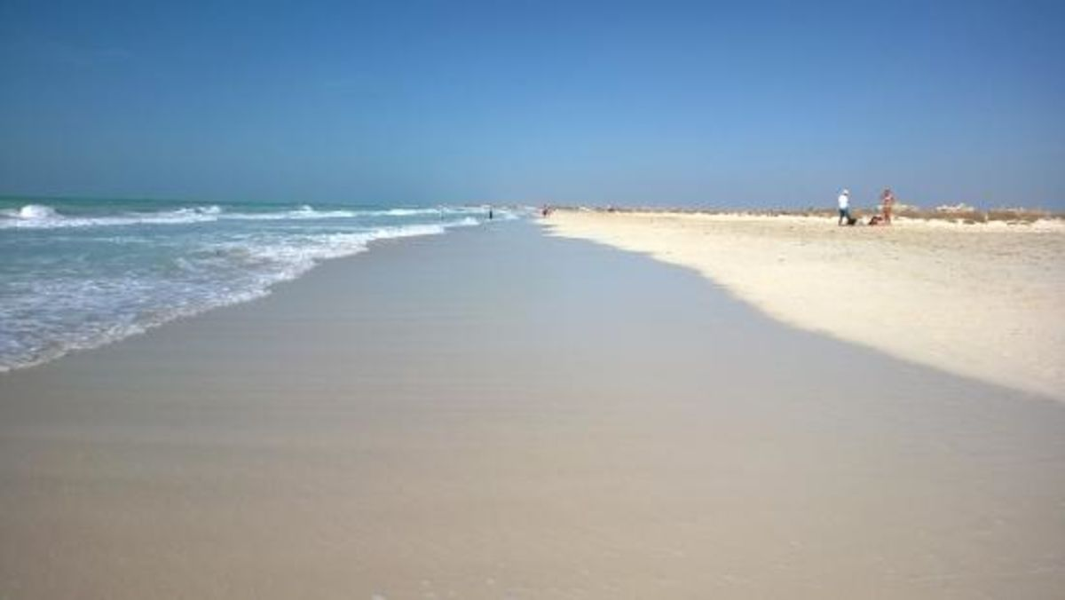 Headline for Best Beaches in Abu Dhabi – Glistening Oases of Sun Sand n Surf