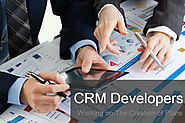 CRM Developers Working on The Creation of Plans