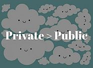 5 Reasons Why Private Clouds are better than Public Clouds
