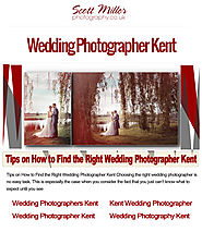 Veteran Wedding Photographers in Kent