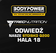 Trec Nutrition na BODYPOWER 2016