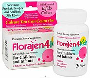 Florajen4Kids Probiotic Dietary Supplement Reviews