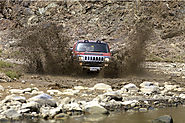 Try Wadi Bashing in Abu Dhabi