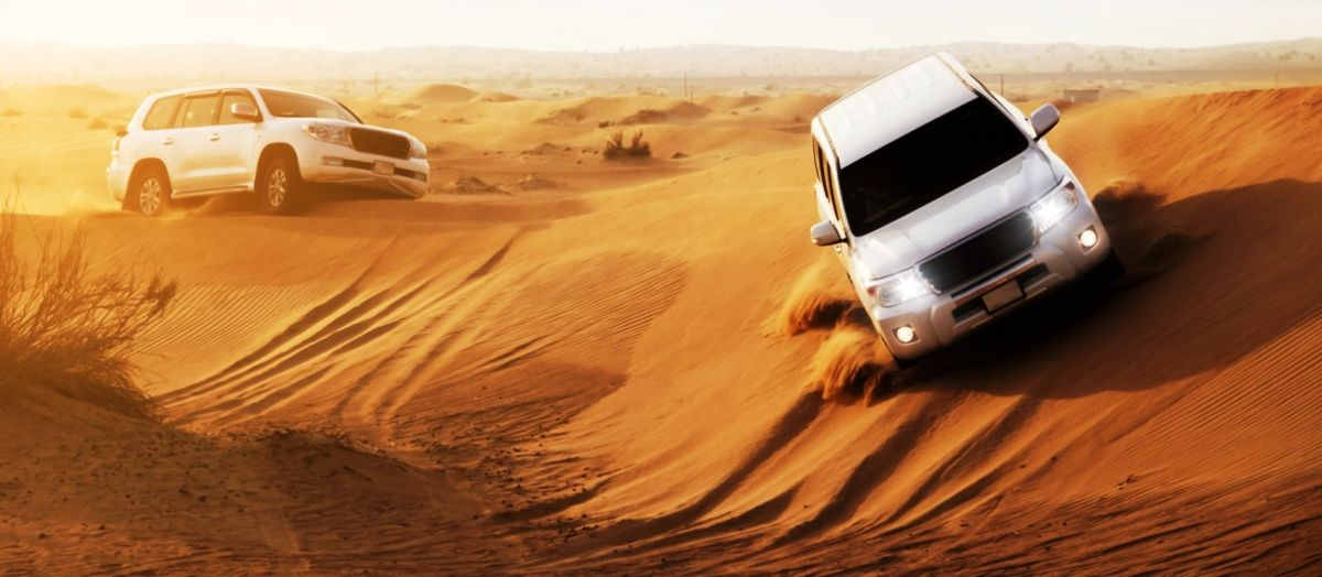 Headline for Abu Dhabi Attractions for Adventure Lovers – Thrills in the Desert