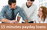 15 Minutes Payday Loans For Jobless People With Flexible Terms