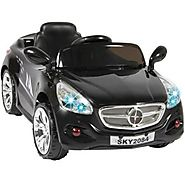 12V Ride on Car Kids RC Car Remote Control Electric Power Wheels W/ Radio & MP3 Black