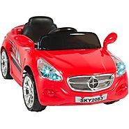 12V Ride on Car Kids RC Car Remote Control Electric Power Wheels W/ Radio & MP3 Red
