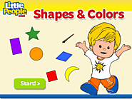 Little People Shapes & Colors Game