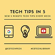 Tech Tips in 5 Episode 1: One Tab