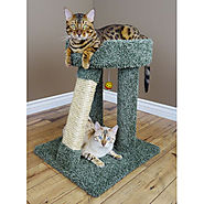 New Cat Condos Elevated Cat Bed Beige