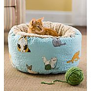 Kitten Caboodle Puffy Cat Bed Cat Beds