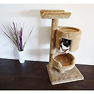 New Cat Condos Premier Cat Bungalow Cat Tree | Overstock.com Shopping - The Best Deals on Cat Furniture