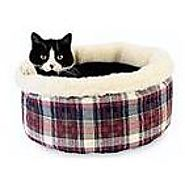 Hidden Valley Products Comfy Curler Cat Bed from WALMART