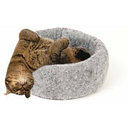 Mysterious Kuddle Kup Cat Bed, Charcoal